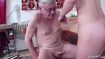 Nackt alter opa Sex mit