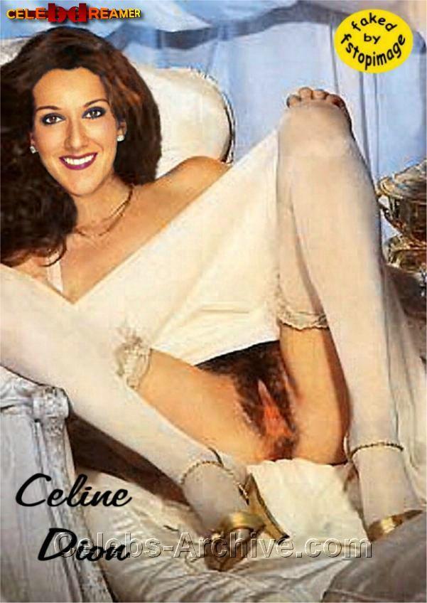 Fake nackt celine dion Naked Celebrities